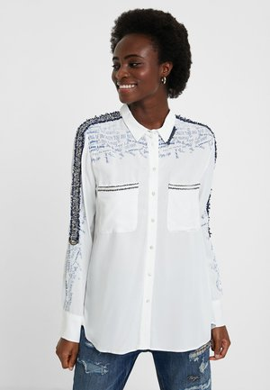 CAM_HAMBURGO - Button-down blouse - white