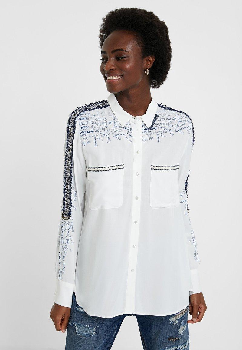 Desigual - CAM_HAMBURGO - Button-down blouse - white