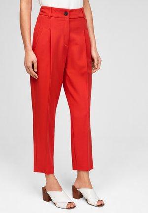 Pantalon classique - burning red