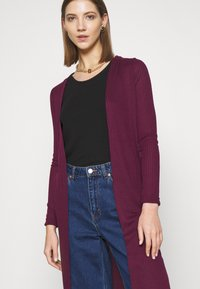 New Look - MIDI  - Cardigan - dark burgundy - 4