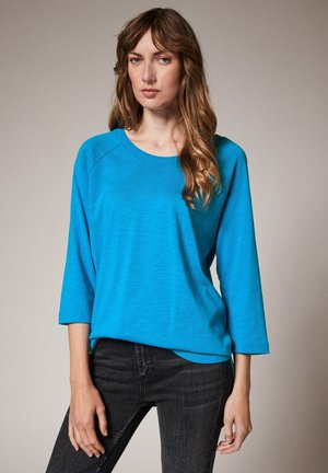 Long sleeved top - vibrant blue