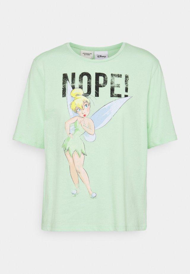 JDYDARLINGTON LIFE LICENSE - T-shirt med print - pastel green