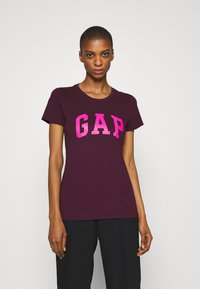 GAP - TEE - Print T-shirt - secret plum - 0