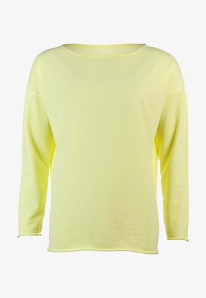 Sweatshirt - vibrant yellow