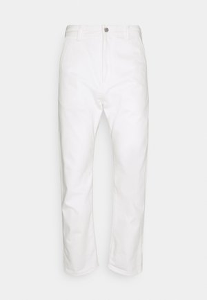 UNIVERSE PANT CROPPED - Jeans Tapered Fit - white selvage denim