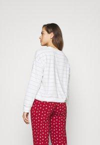 GAP - SUM TOWEL TERRY HENLEY - Pyjama top - heather varigated - 2
