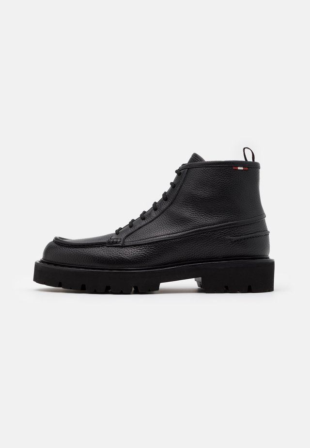LYSIUS - Bottines à lacets - black