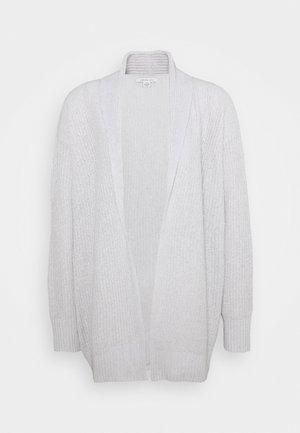 LOUNGE SHAWL COLLAR CARDIGAN - Cardigan - gray