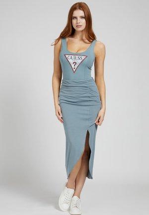 Maxi skirt - wassergrün