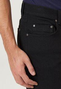 Pioneer Authentic Jeans - HERREN MEGAFLEX RANDO - Straight leg jeans - black - 3
