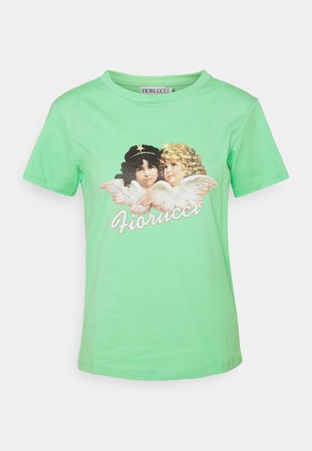 VINTAGE ANGELS TEE ´ - Print T-shirt - green