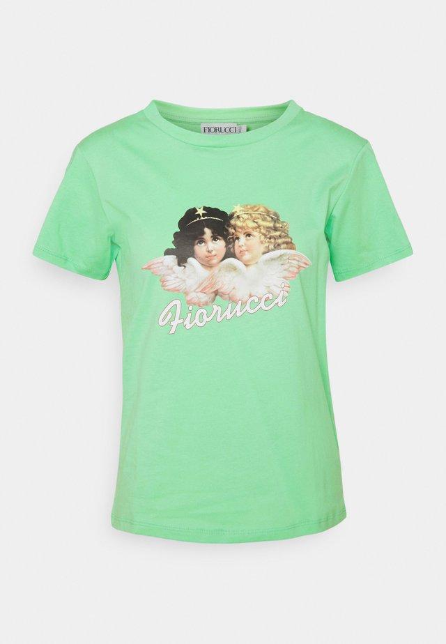 VINTAGE ANGELS TEE ´ - T-shirt print - green