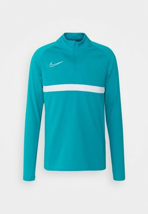 Sports shirt - aquamarine/white