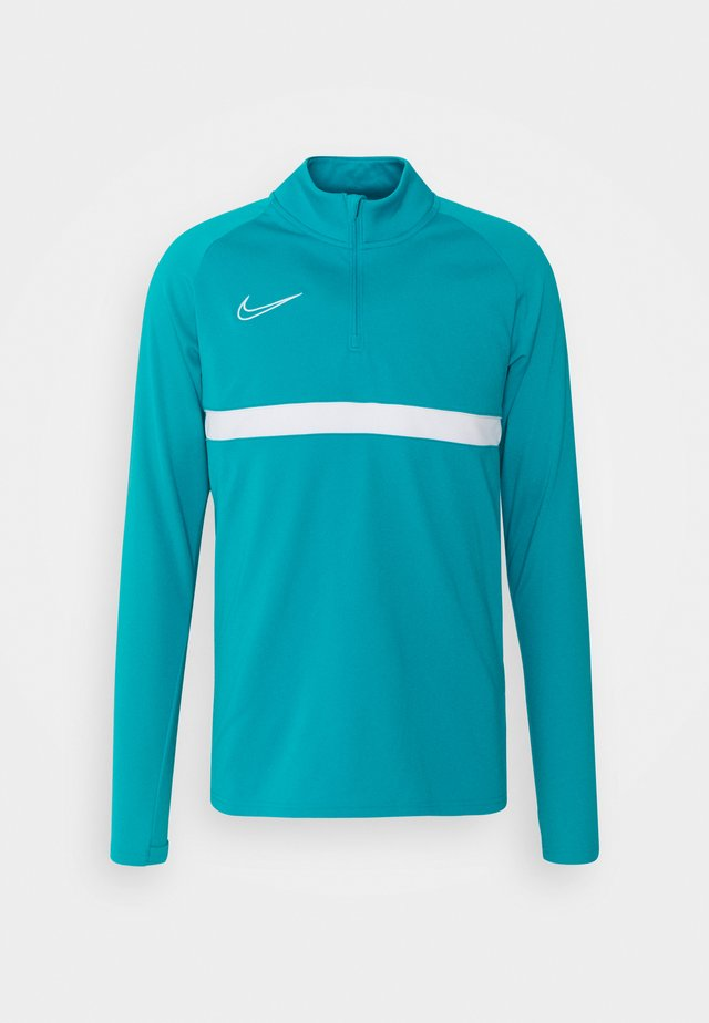 Sports shirt - aquamarine/white