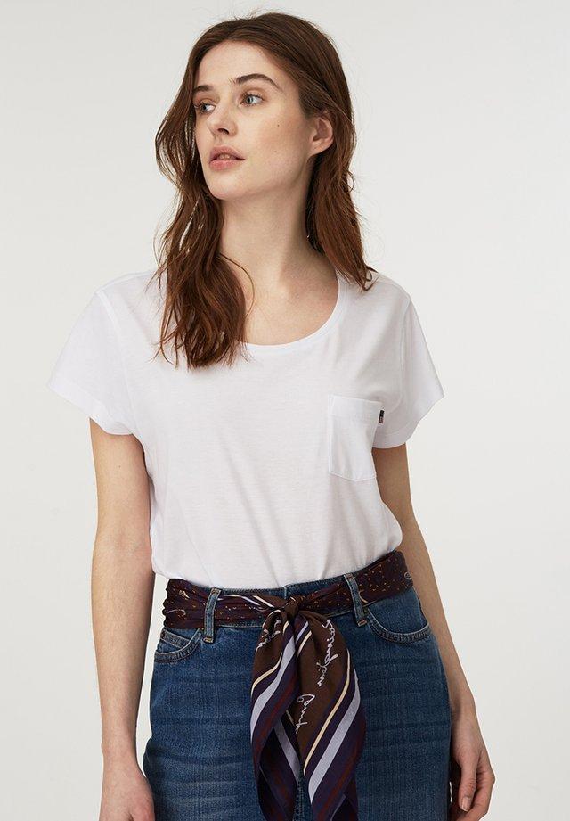 ASHLEY  - Basic T-shirt - bright white