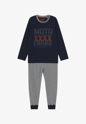 PYJAMA LONG - Pyjama set - shadow blue