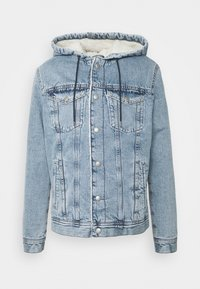 Jack & Jones - JJIJEAN JJJACKET HOOD - Chaqueta vaquera - blue denim - 4