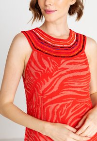 Ivko - ANIMAL PATTERN - Day dress - red - 3