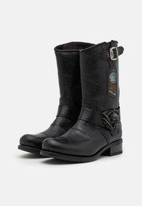 New Rock - UNISEX - Kowbojki i obuwie motocyklowe - black - 1