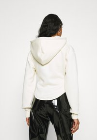 Missguided - CORSET HOODY - Zip-up sweatshirt - cream - 2