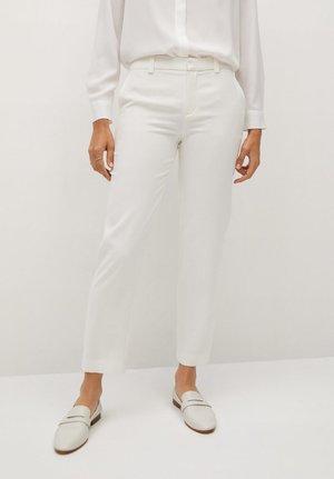 EVAIS-X - Kalhoty - weiß