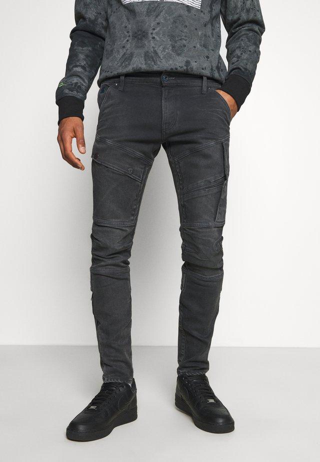 AIRBLAZE 3D SKINNY - Jeans slim fit - slander black