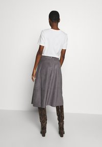 Esprit Collection - LINE SKIRT - A-line skirt - taupe - 2