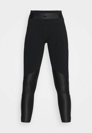 POWER MISSION 7/8 WORKOUT LEGGINGS - Leggings - black