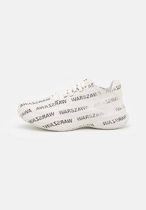 WARSZAWA MOON TRAINER - Baskets basses - white/black