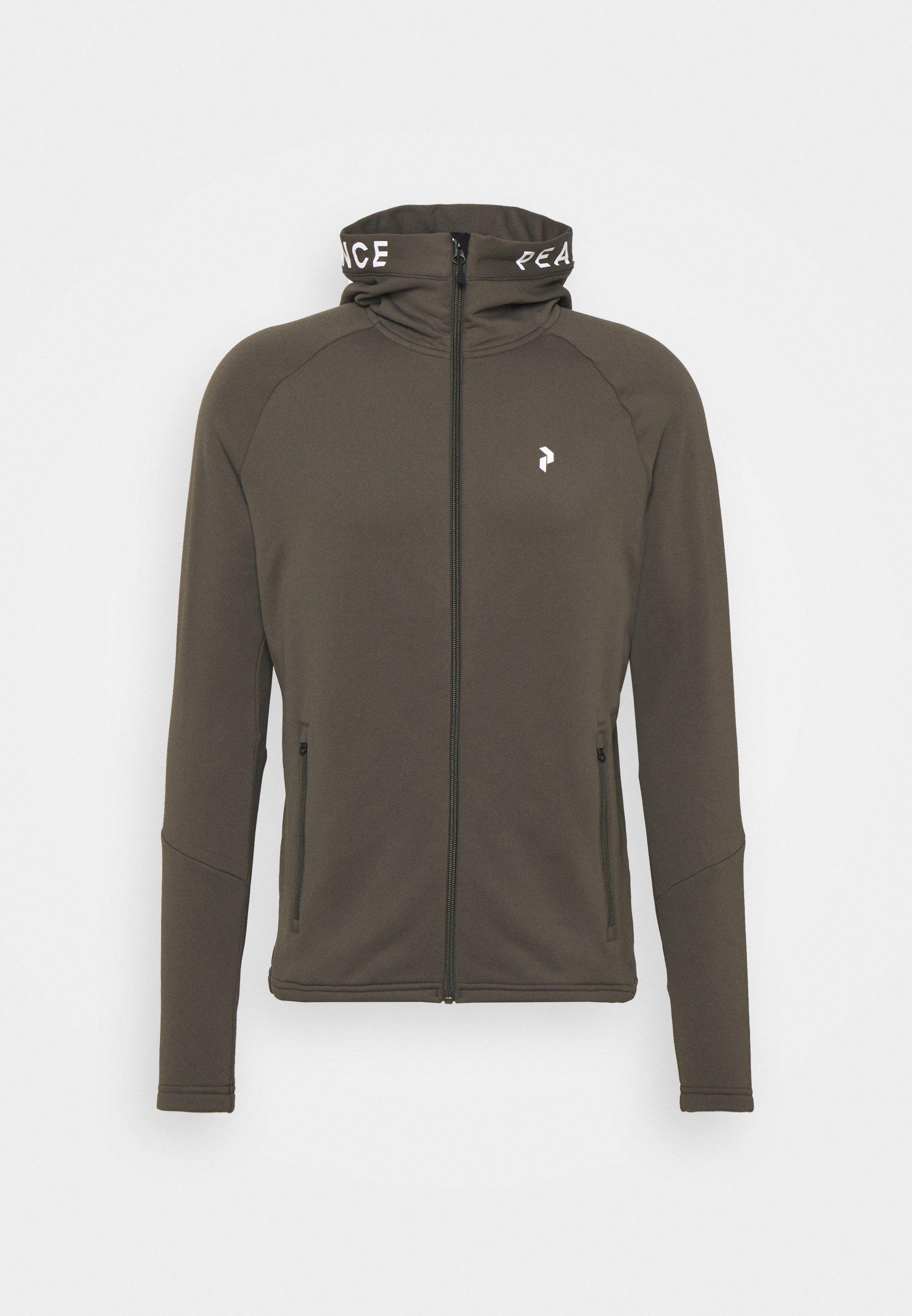 Men RIDER ZIP HOOD - Fleece jacket