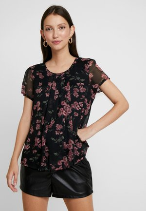 VMMALLIE RESTA - Blouse - black/mallie