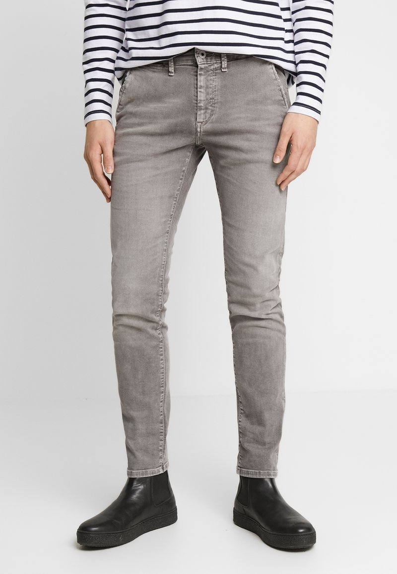 Pepe Jeans - JAMES - Jeansy Slim Fit - grey