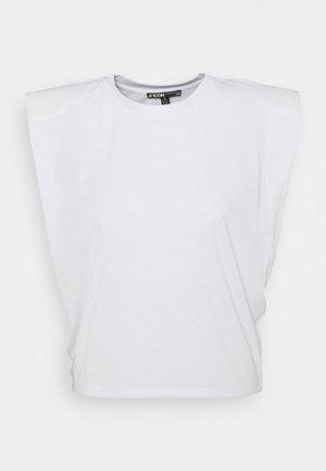 SLEEVELESS - Basic T-shirt - white