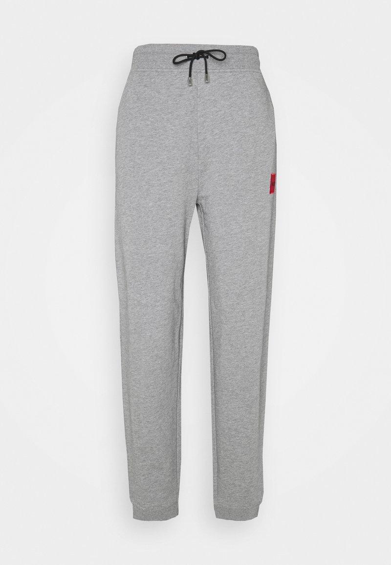 HUGO - DICHIBI REDLABEL - Spodnie treningowe - grey melange