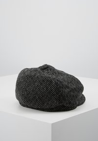Burton Menswear London - HERRINGBONE BAKER - Beanie - grey - 2