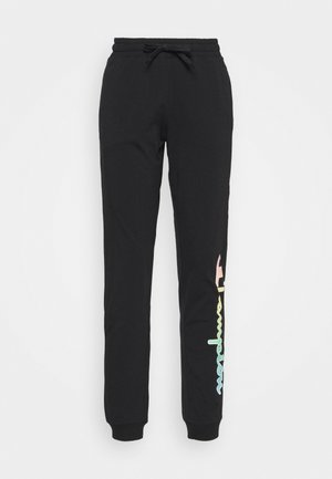 RIB CUFF PANTS - Pantalon de survêtement - black