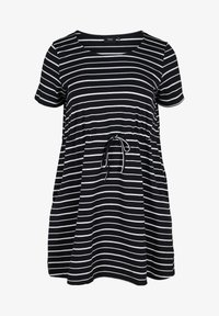 Zizzi - Tunic - black/white stripe - 3