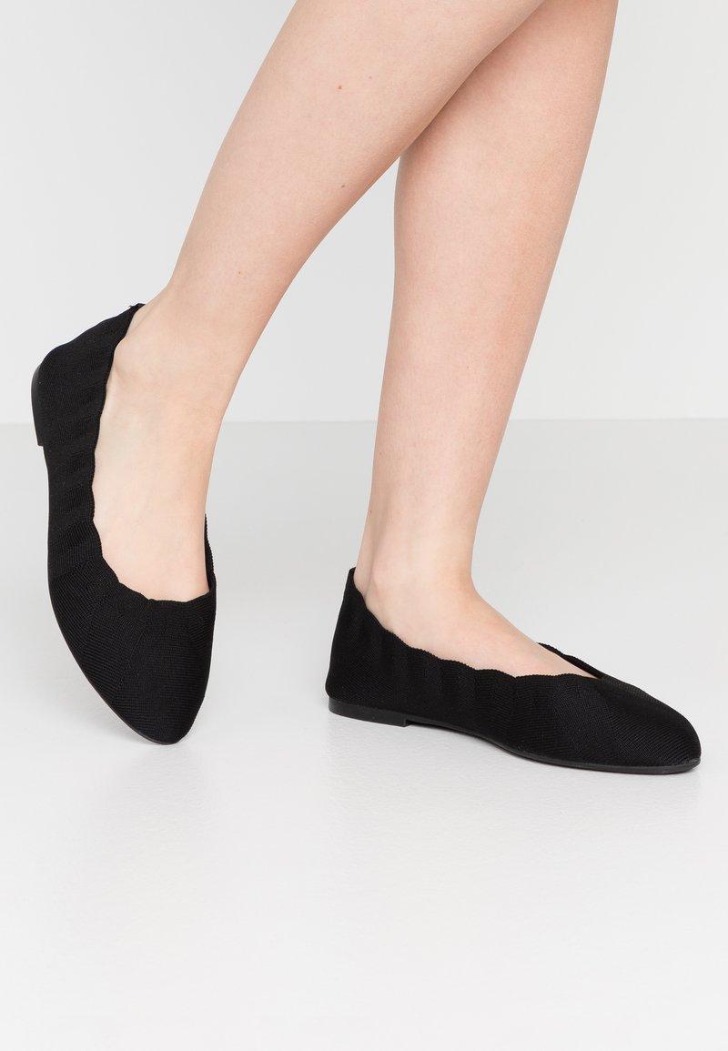Skechers Wide Fit - CLEO - Ballet pumps - black
