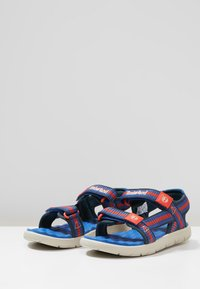 Timberland - PERKINS ROW WEBBING - Sandały - bright blue - 3