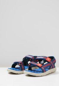 Timberland - PERKINS ROW WEBBING - Sandals - bright blue - 3