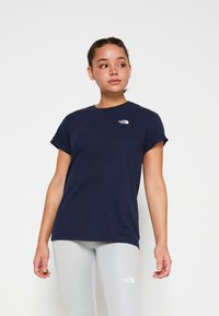 The North Face - W TISSAACK TEE  - Print T-shirt - aviator navy - 0