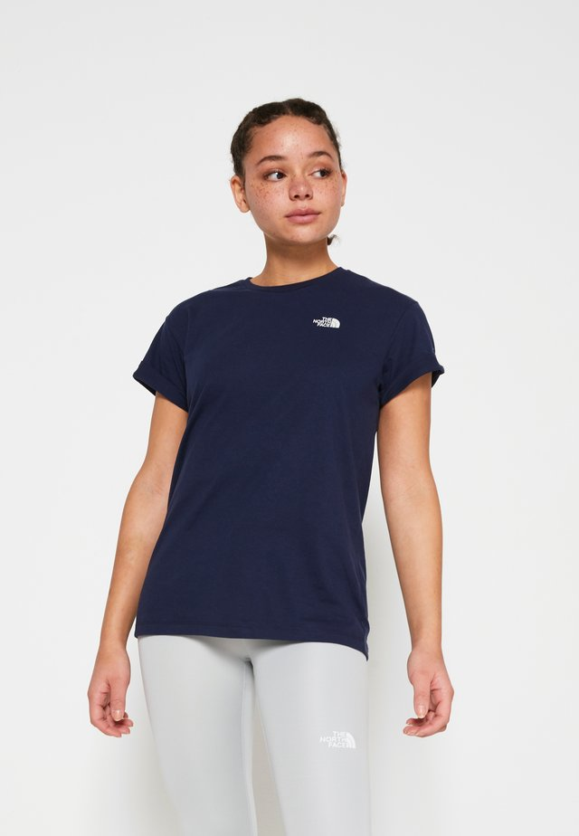 W TISSAACK TEE  - Camiseta estampada - aviator navy