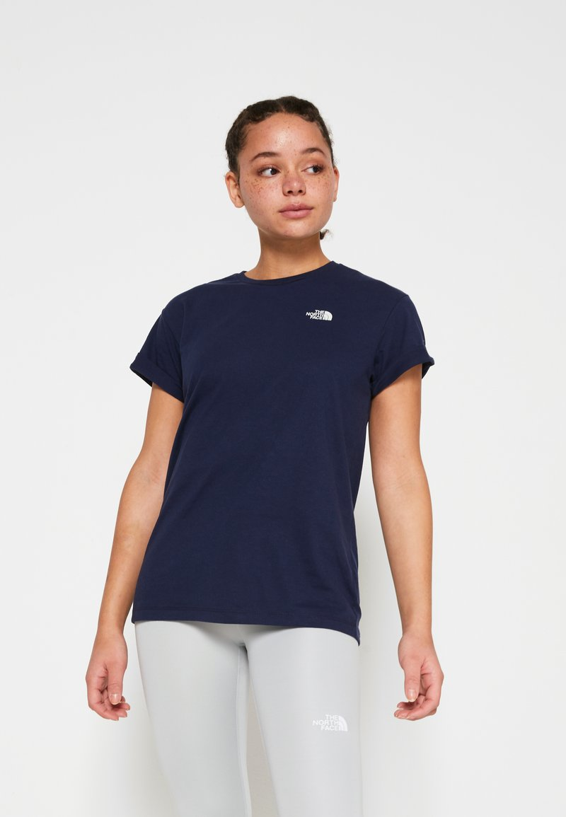 The North Face - W TISSAACK TEE  - Print T-shirt - aviator navy