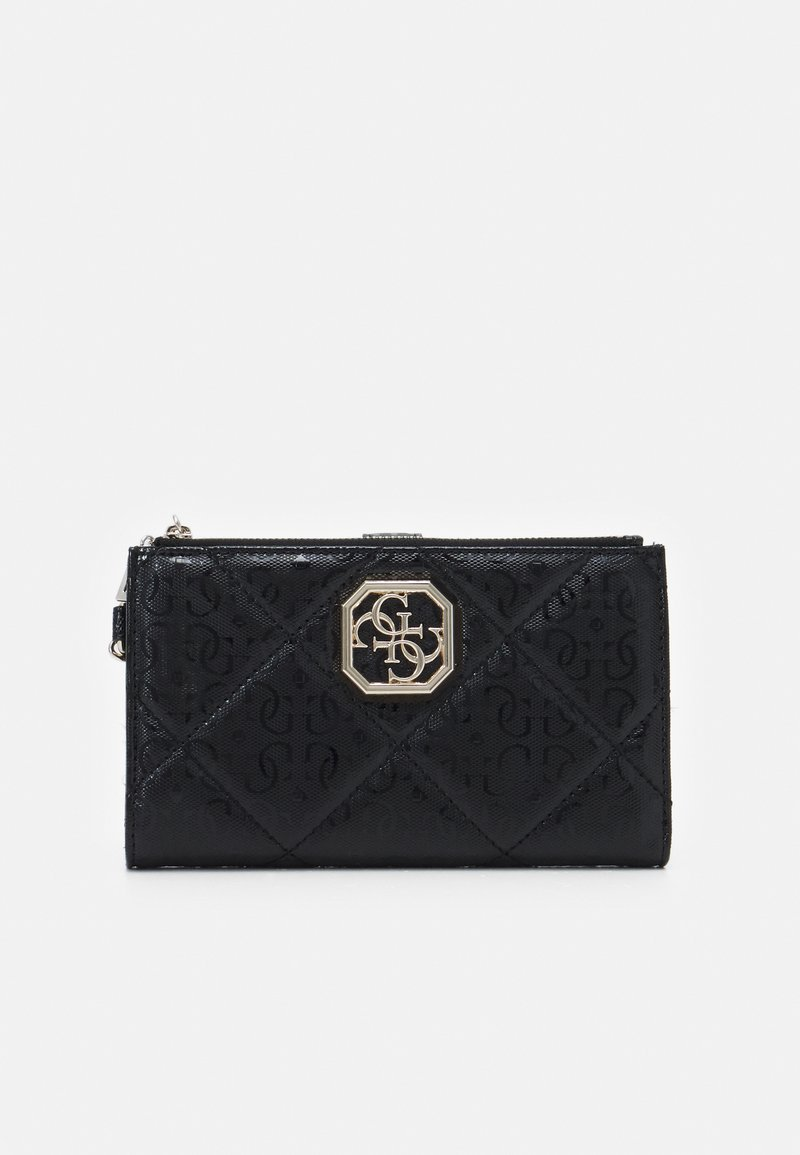 Guess - DILLA ZIP ORGANIZER - Wallet - black