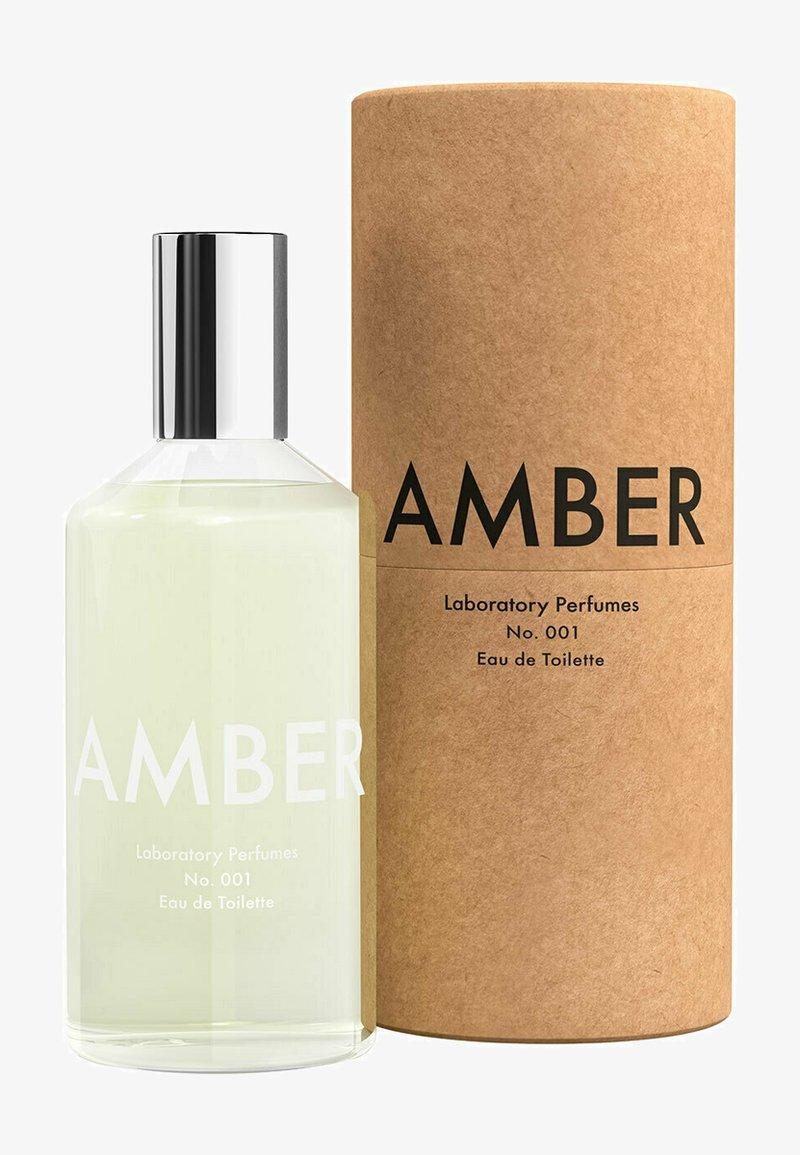 Laboratory Perfumes - EAU DE TOILLETTE AMBER - Eau de Toilette - -