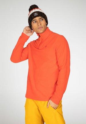PERFECTO  - Fleece jumper - orange fire