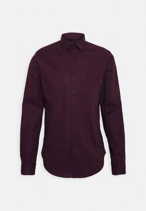 Overhemd - bordeaubergine