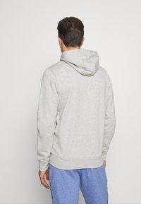 Schott - Zip-up hoodie - heather grey - 2