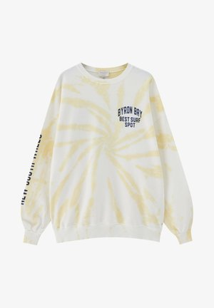 Sweatshirt - light yellow