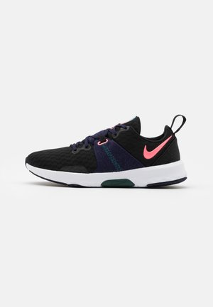 CITY TRAINER 3 - Sports shoes - black/sunset pulse/blackened blue
